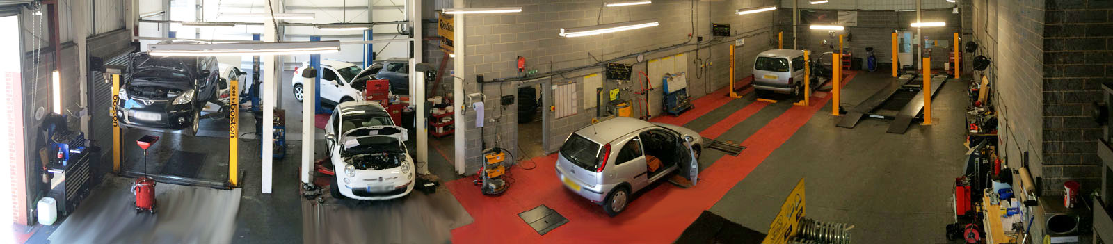 Ja's Auto Services, the Garage